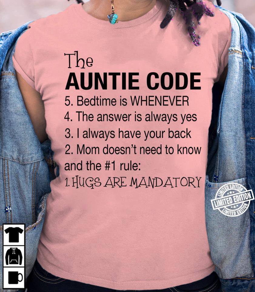 The auntie code shirt