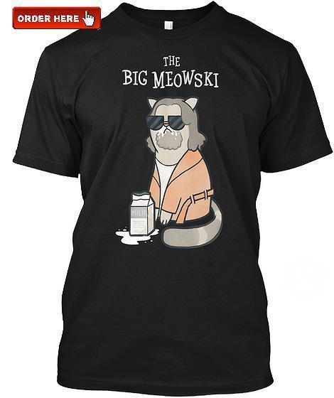 The big meowski shirt