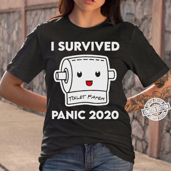 Toilet Paper Shortage Virus Flu Panic 2020 Shirt