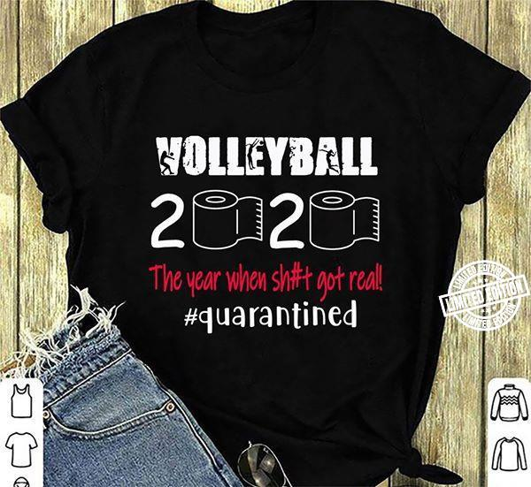 Volleyball 2020 Toilet Shirt